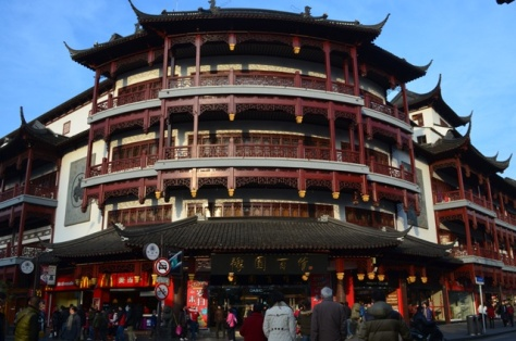 Shanghai McDonalds traditional looking