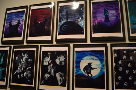 Tim Burton Nightmare Before Christmas paintings