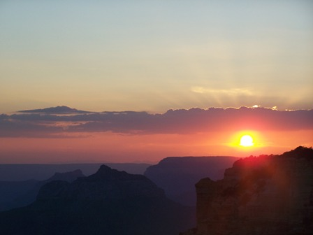 Grand Canyon Cape Royal sunset