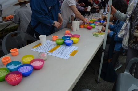 Lotus Lantern Festival candle making