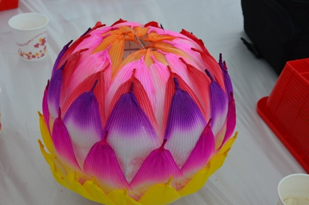 Lotus Lantern Festival lantern complete