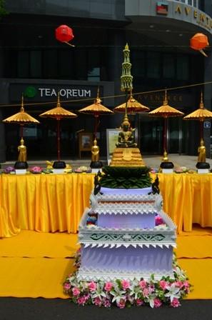 Lotus Lantern Festival Thai Buddhism