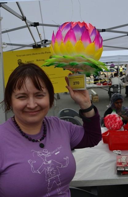 me at Lotus Lantern Festival