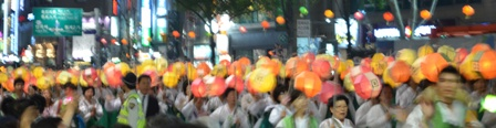 Parade marchers (5)
