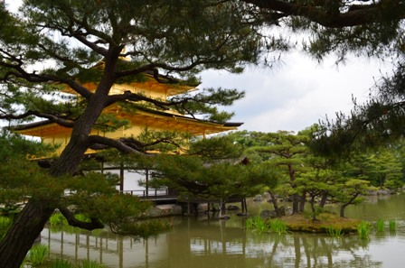 Golden Pavilion pond