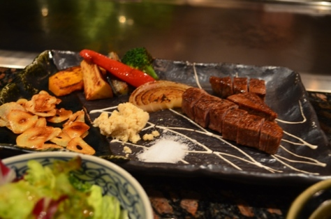 Japanese Teppanyaki dinner