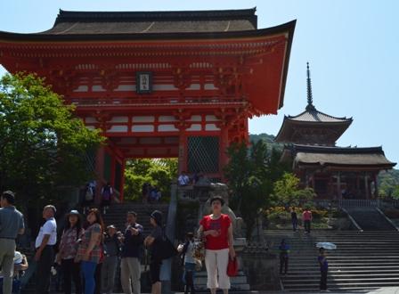 Kiyomizu Temple entry