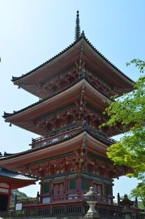 Kiyomizu Temple Pagoda