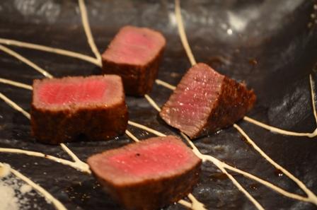 Kobe beef Teppanyaki 100g