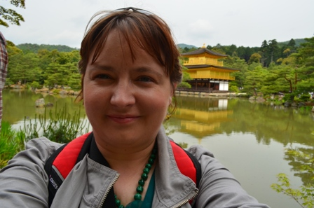 me at Golden Pavilion