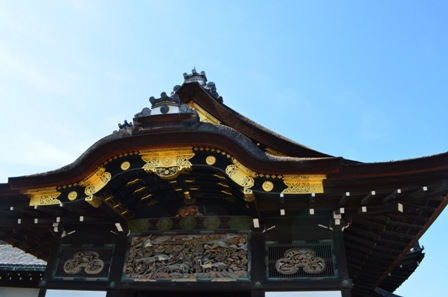 Nijo Castle entry
