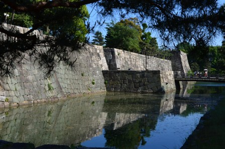 Nijo Castle walls