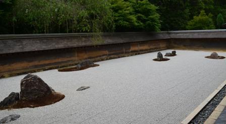 Ryoanji Temple Zen rock garden