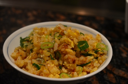 Teppanyaki fried garlic rice