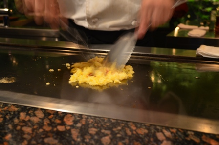 Teppanyaki fried rice