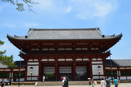 Todaiji Temple entrance