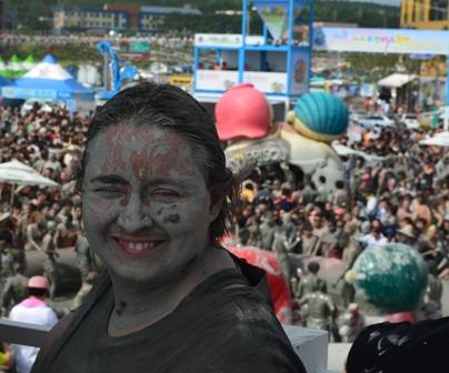 Boryeong Mud Festival me muddy