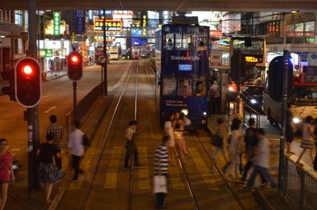 Hong Kong at night 1