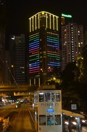 Hong Kong at night 3