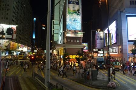 Hong Kong at night 4