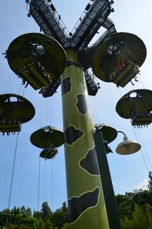 Hong Kong Disneyland parachute drop