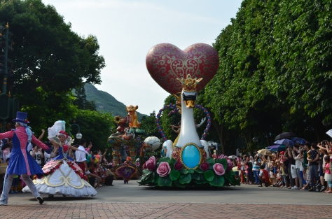 Hong Kong Disneyland parade 5