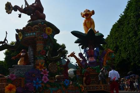 Hong Kong Disneyland parade 7