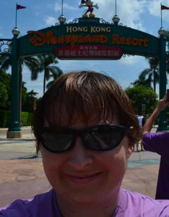 Hong Kong Disneyland selfie