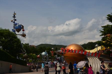 Hong Kong Disneyland Tommorowland
