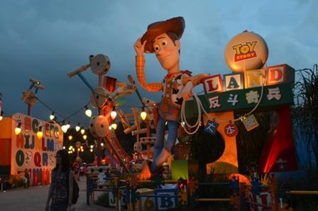 Hong Kong Disneyland Toyland night