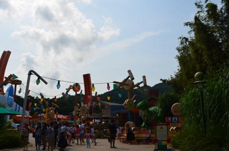 Hong Kong Disneyland Toyland