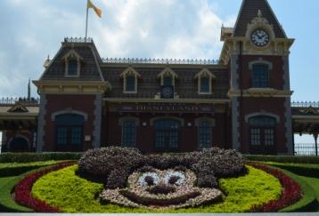 Hong Kong Disneyland train station