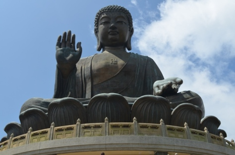 Hong Kong Lantau Big Buddha statue