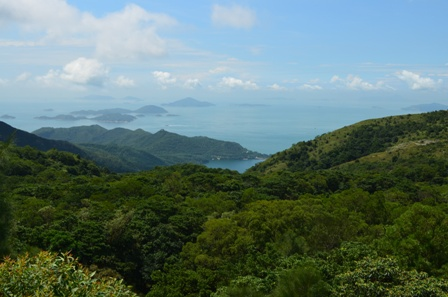 Hong Kong Lantau island view
