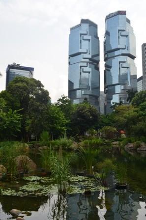 Hong Kong park Lippo building