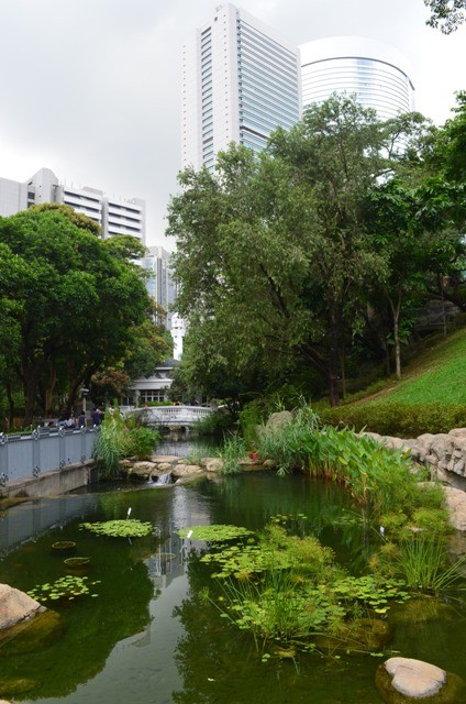 Hong Kong park title picture