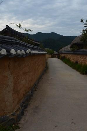Andong Hahoe Maeul stone walkways