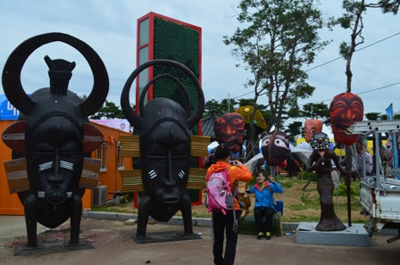 Andong Mask Festival masks of the world