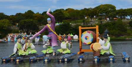 Jinju Lantern Festival day 1