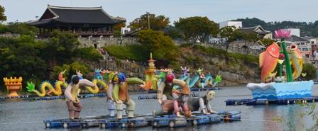 Jinju Lantern Festival day 2