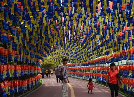 Jinju Lantern Festival day 4