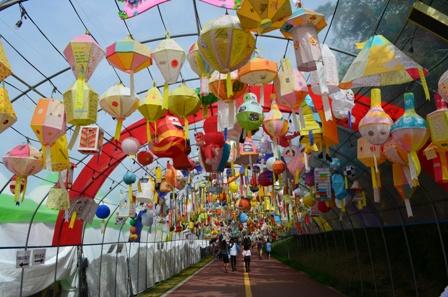 Jinju Lantern Festival day 5