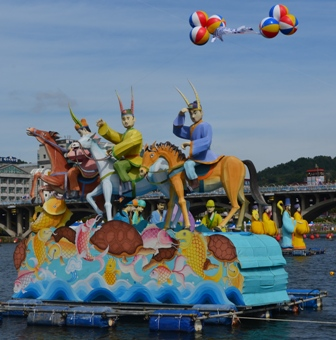 Jinju Lantern Festival day 7