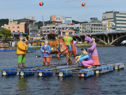 Jinju Lantern Festival day 8