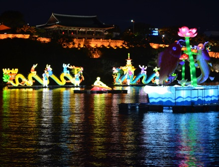 Jinju Lantern Festival night 7