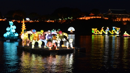 Jinju Lantern Festival night 8