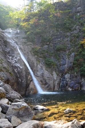 Seoraksan day 1 Biryong Falls