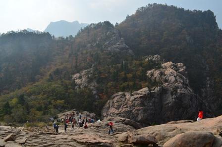 Seoraksan day 1 Gwongeumseong view