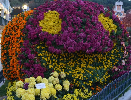 Halloween Korea Everland flower pumpkin