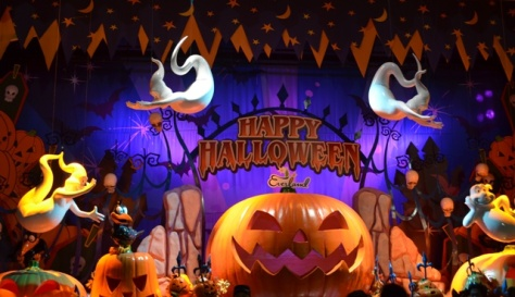 Halloween Korea Everland holiday greeting photo op
